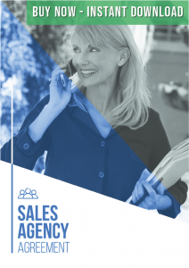 Sales Agency Agreement Template Buy Now